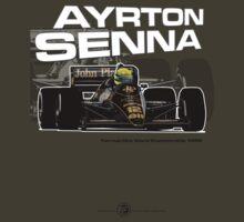 Ayrton Senna - F1 1986 T-Shirt