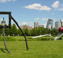 Downtown Minneapolis, MN by Charles