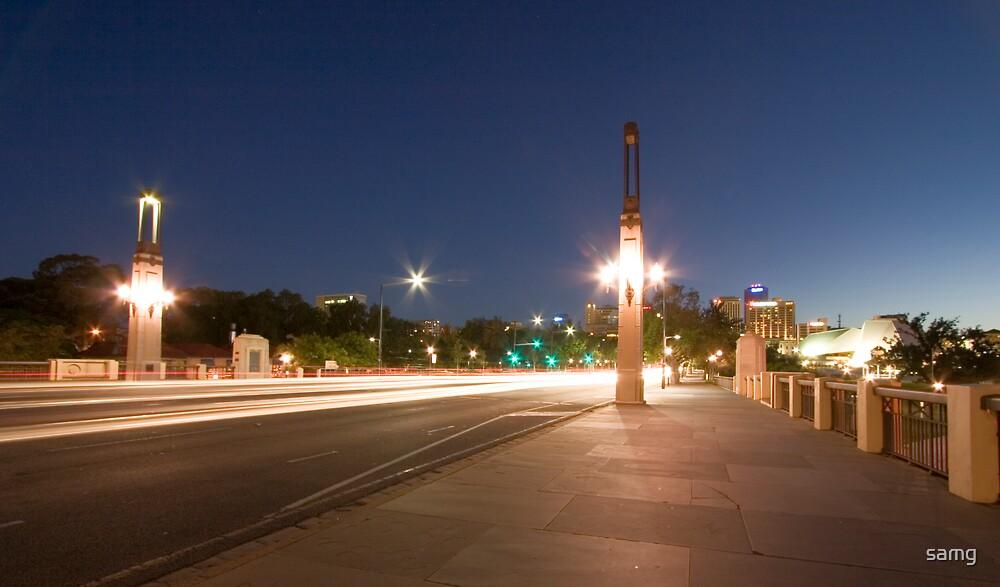 King William Street by night by samg