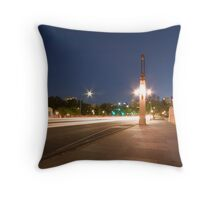 King William Street by night Throw Pillow