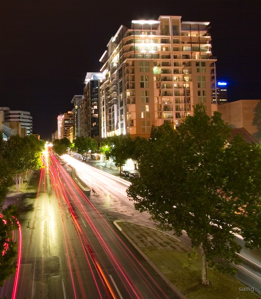 North Terrace by Night II by samg