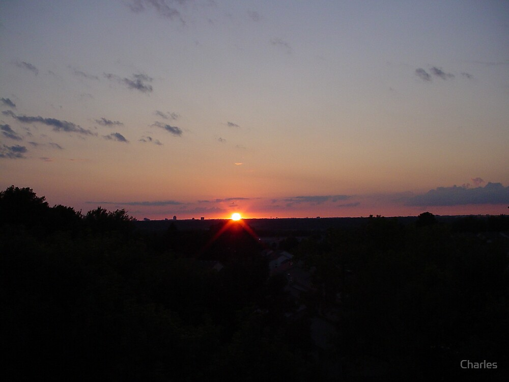 Sunset by Charles