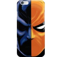 deathstroke mask iPhone Case/Skin