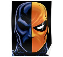 deathstroke mask Poster