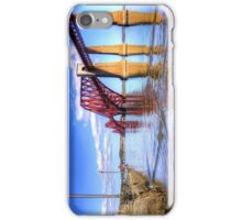 The view from the Hawes Pier iPhone Case/Skin