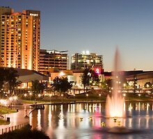 River Torrens by night by samg