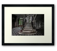 Chateau De Singes - Derelict French Chateau Framed Print
