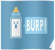 Burp (Boy) Poster