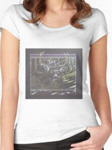 Happy Hunting Grounds Women's Fitted Scoop T-Shirt