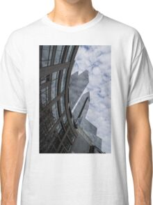 Hugging the Clouds at Columbus Circle - Manhattan, New York City Classic T-Shirt