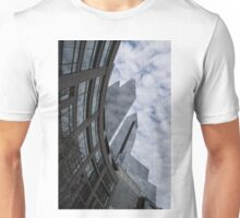 Hugging the Clouds at Columbus Circle - Manhattan, New York City Unisex T-Shirt