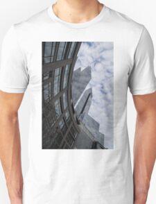 Hugging the Clouds at Columbus Circle - Manhattan, New York City T-Shirt