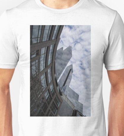 Hugging the Clouds at Columbus Circle - Manhattan, New York City Unisex T-Shirt