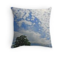 Blue, Blue Sky Throw Pillow