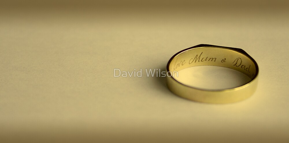 Gold Ring by David Wilson