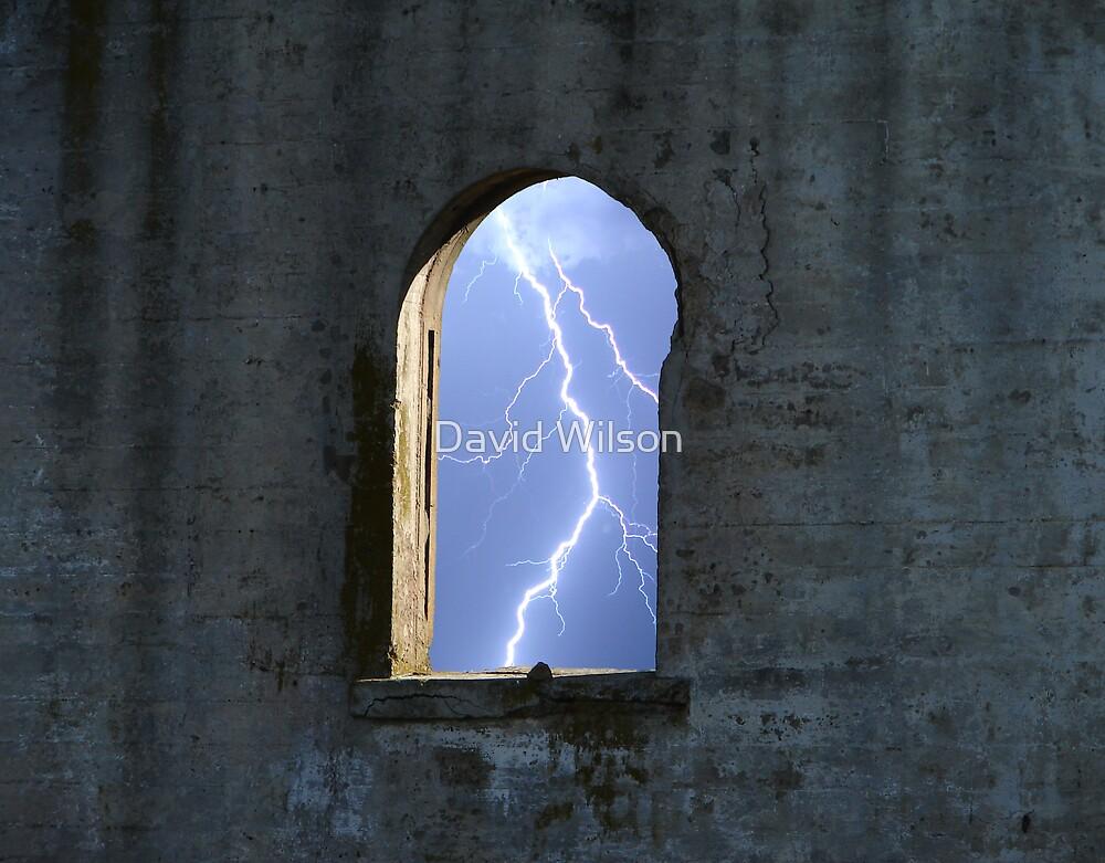 lightning Window by David Wilson