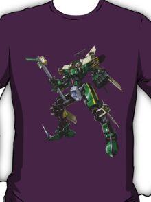 Tramsformer - Original Met Green T-Shirt