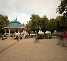 Plaza Valdivia Chile by samg