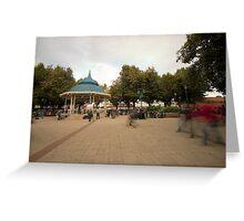 Plaza Valdivia Chile Greeting Card