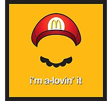 McMario Photographic Print
