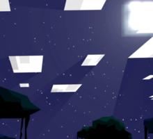 Minecraft Nightscape Sticker