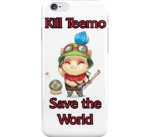 Kill Teemo iPhone Case/Skin