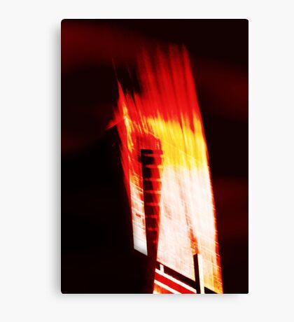 High-Rise Flare Canvas Print