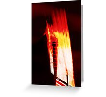 High-Rise Flare Greeting Card