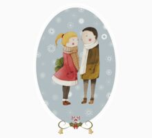 Lovers In The Snow Kids Clothes