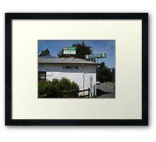 Tasmania - Along The Road - Worst Pub Framed Print