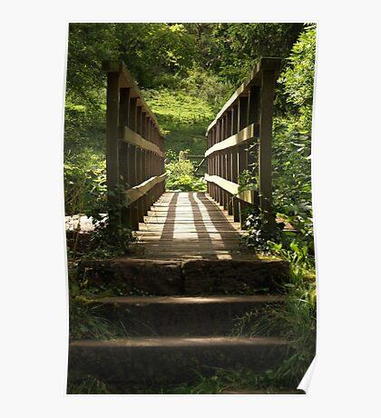 Sunlit Bridge Poster