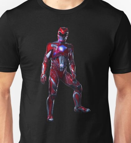 Power Rangers Movie - Red Ranger Unisex T-Shirt