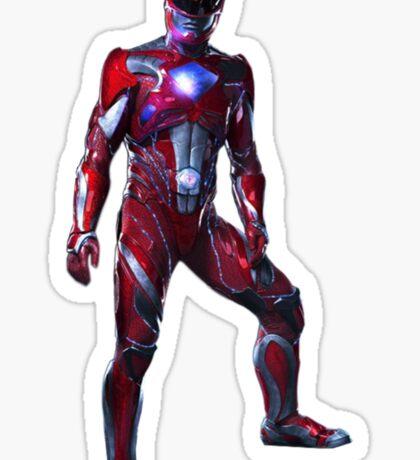 Power Rangers Movie - Red Ranger Sticker