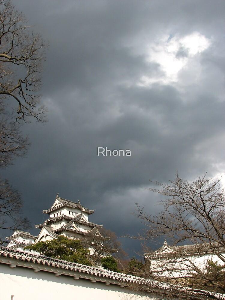 Himeji castle by Rhona