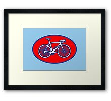 STP Bike Logo Framed Print