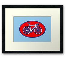 STP Bike Logo Framed Print