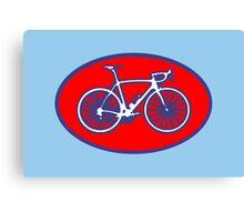 STP Bike Logo Canvas Print