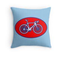 STP Bike Logo Throw Pillow