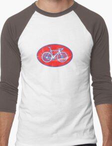 STP Bike Logo Men's Baseball ¾ T-Shirt