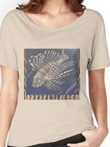 Lionfish Women's Relaxed Fit T-Shirt