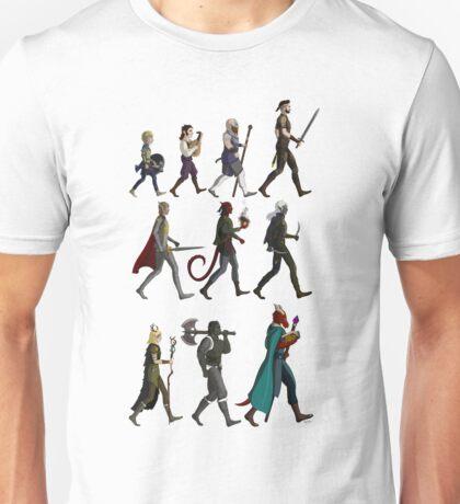 RPG Races Chart - Colour Unisex T-Shirt