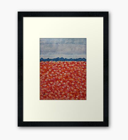 Blossomtime original painting Framed Print