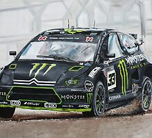 Liam Doran RallyCross Monster Citreon  by iconic-arts