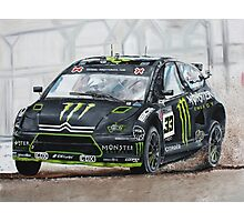 Liam Doran RallyCross Monster Citreon  Photographic Print