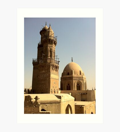 Cairo Rooftop Art Print