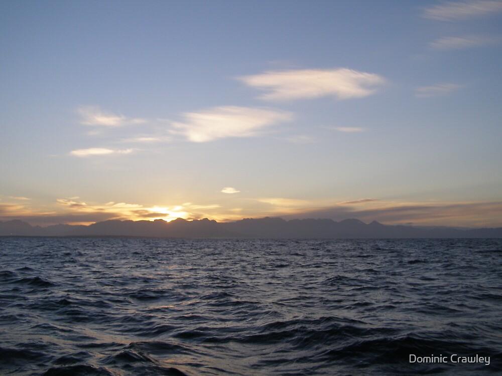 Dawn at sea by Dominic Crawley