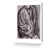 Leather Jacket Greeting Card