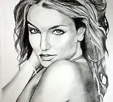 Britney Spears by Dave Allen