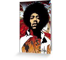 Jimi Hendrix Greeting Card