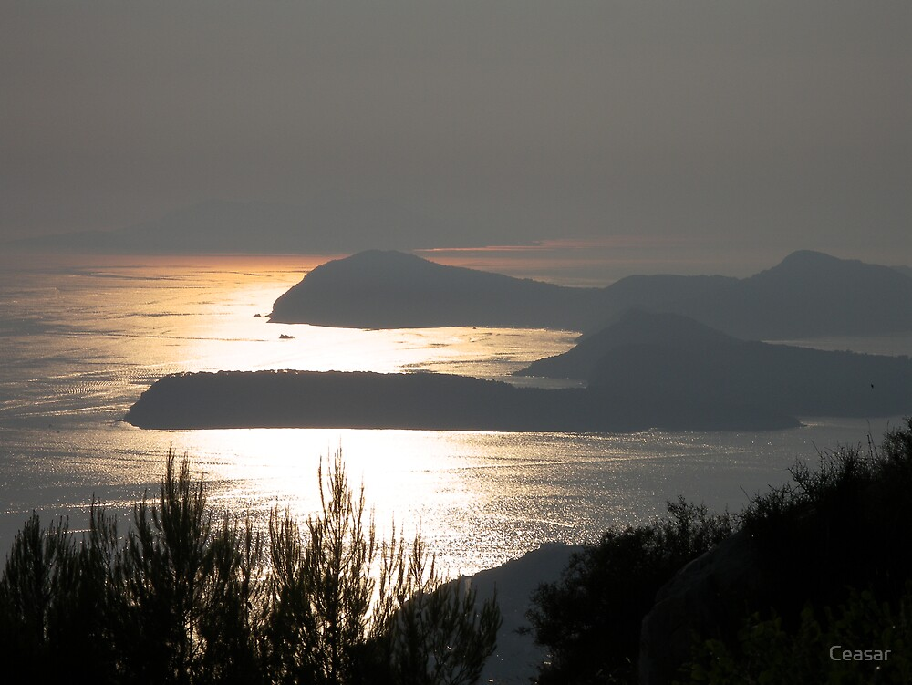 CROATIAN SUNSET by Ceasar